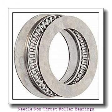 0.625 Inch   15.875 Millimeter x 0.875 Inch   22.225 Millimeter x 1 Inch   25.4 Millimeter  IKO LRB101416  Needle Non Thrust Roller Bearings